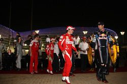 Fernando Alonso, Scuderia Ferrari, Mark Webber, Red Bull Racing