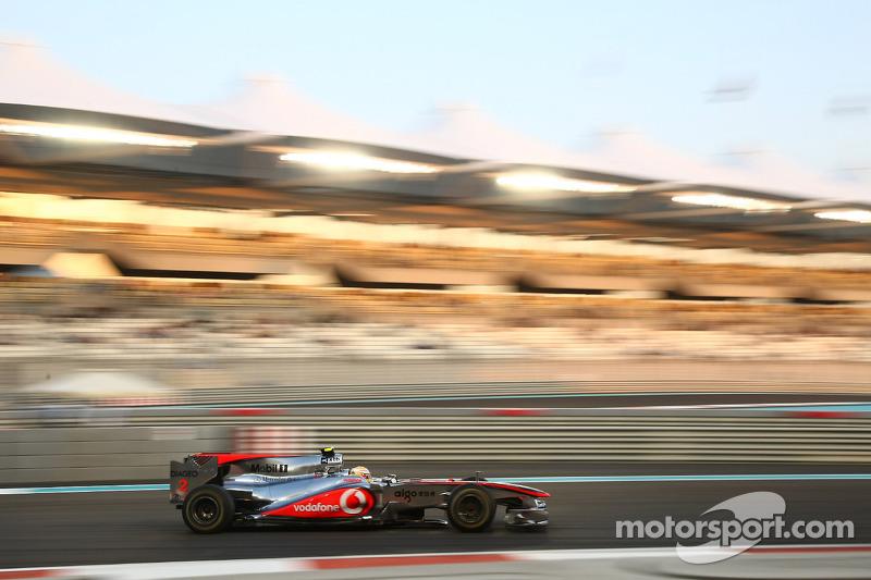 Lewis Hamilton, McLaren Mercedes MP4/25 (2010)