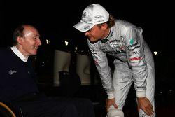 Sir Frank Williams, WilliamsF1 Team, Takım Şefi, Direktörü, Takım Patronu Nico Rosberg, Mercedes GP