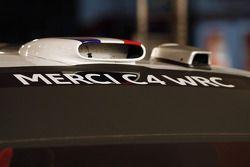 Boodschap op de Citroën C4 WRC