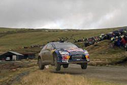 Auto Citroën C4 WRC de Kimi Raikkonen y Kaj Lindstrom Citroën Junior Team