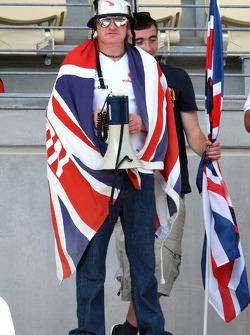English fan