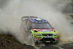 Яри-Матти Латвала и Микка Анттила, Ford Focus RS WRC08, BP Ford Abu Dhabi World Rally Team