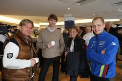 Marcus Grönholm rejoint Henning Solberg et Mikko Hirvonen à la fête d'adieu à la Ford Focus RS WRC