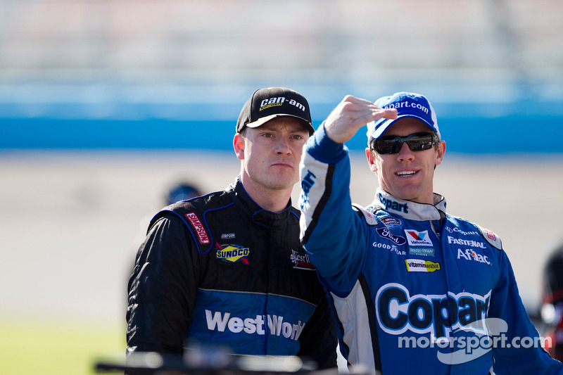 Carl Edwards en Daryl Harr