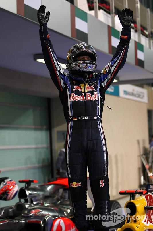 Race winnaar en 2010 wereldkampioen F1 Sebastian Vettel, Red Bull Racing