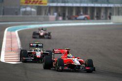 Лукас ди Грасси, Virgin Racing и Бруно Сенна, Hispania Racing F1 Team