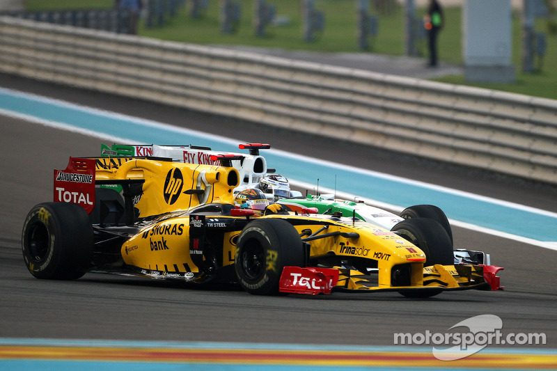 Robert Kubica, Renault F1 Team, Adrian Sutil, Force India F1 Team