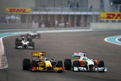 Robert Kubica, Renault F1 Team, Adrian Sutil, Force India F1 Team