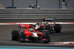 Lucas di Grassi (Virgin) et Bruno Senna (Hispania)