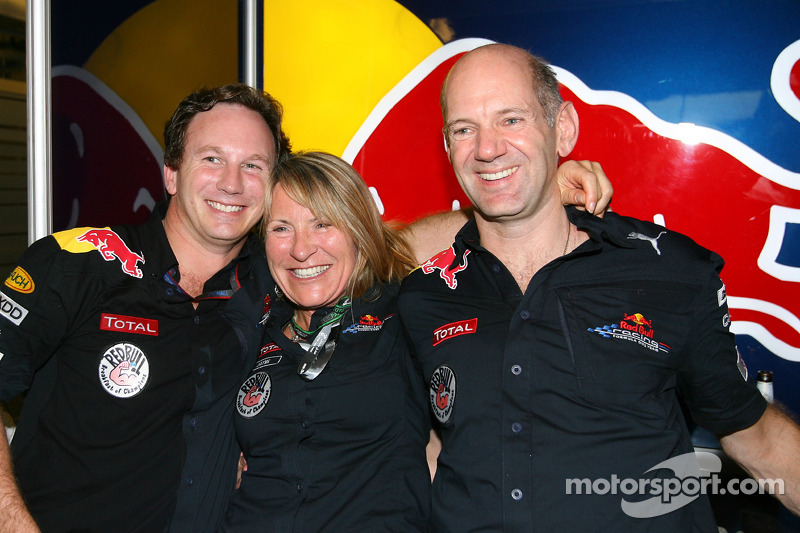 Christian Horner, Red Bull Racing, Sporting Director en Adrian Newey, Red Bull Racing, Technical Ope