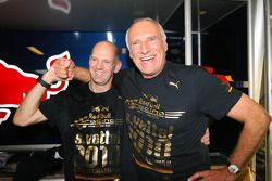 Adrian Newey, Red Bull Racing, Technical Operations Director en Dietrich Mateschitz, Owner of Red Bull