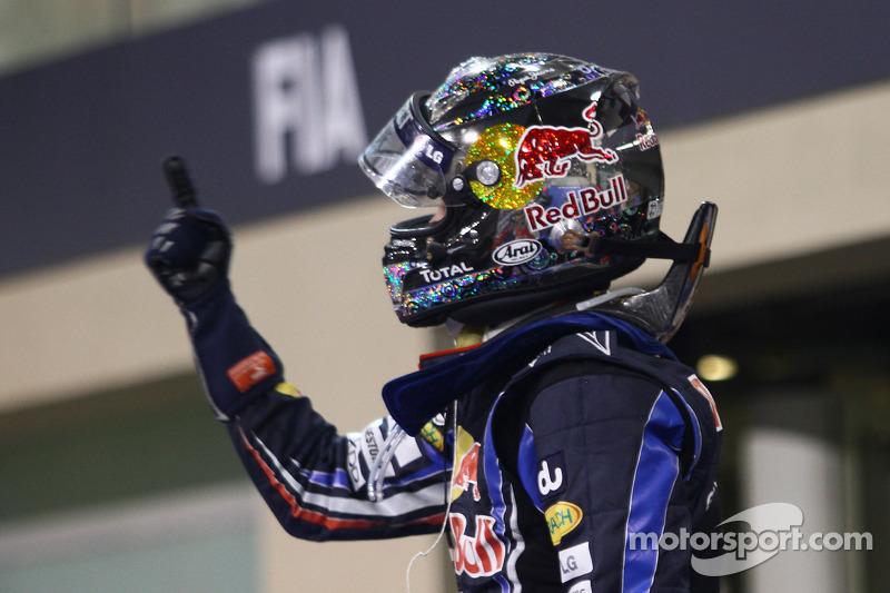 Yarış galibi ve 2010 Formula 1 Dünya Şampiyonu Sebastian Vettel, Red Bull Racing