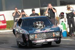 Leah Pruett Leduc, Nostalgia Funny Car, Pomona Californoa