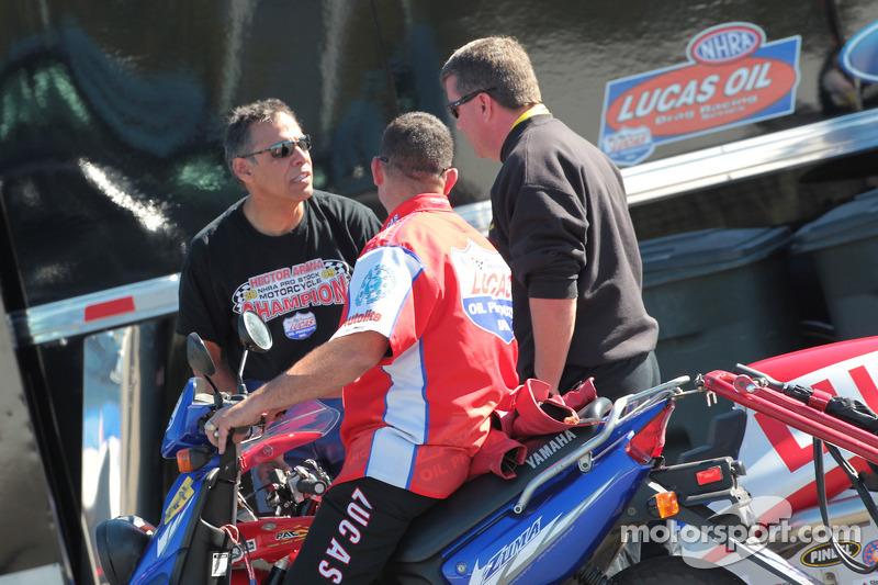 Hector Arana, 2009 Pro Stock Motorcycle Champion