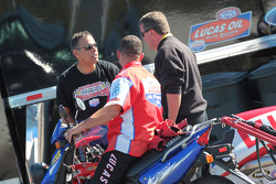 Hector Arana, 2009 Pro Stock Motorcycle Champion