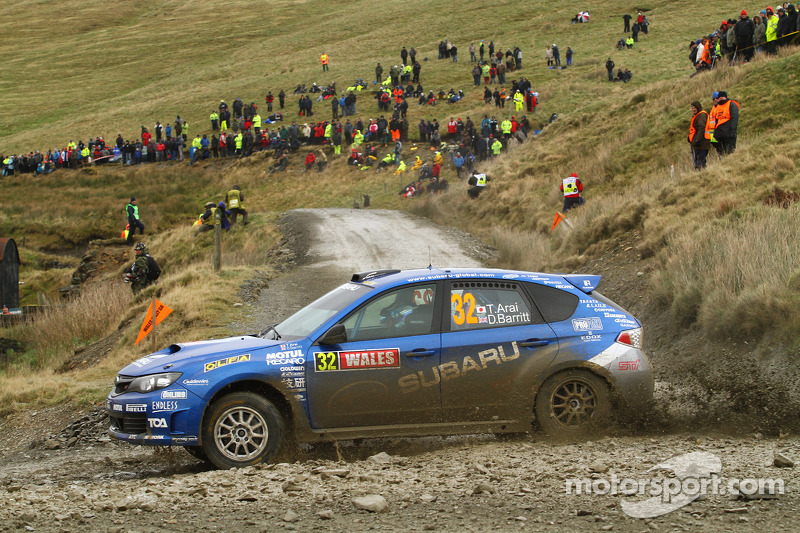 Toshihiro Arai en Glenn Macneall, Subaru Impreza STI, Subaru Team Arai