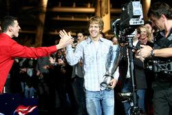 Sebastian Vettel and fans