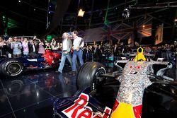 Adrian Newey, Christian Horner et une Red Bull