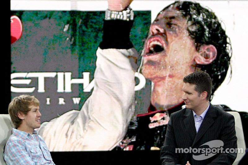 Sebastian Vettel en Andreas Groebl