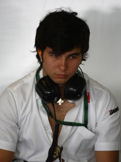 Sergio Pérez BMW Sauber