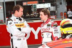 #8 Arta HSV-010: Ralph Firman, #39 Denso Dunlop Sard SC430: Andre Couto