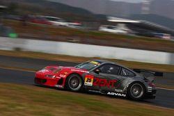 #25 Zent Porsche RSR: Takeshi Tsuchiya, Akihiro Tsuzuki