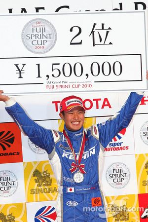 Podium GT500: Koudai Tsukakoshi, deuxième