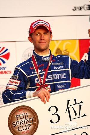 Podium GT500: Ronnie Quintarelli, troisième