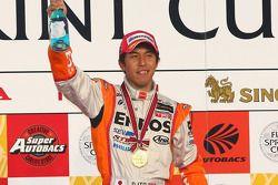 Podium GT500: Daisuke Ito, vainqueur