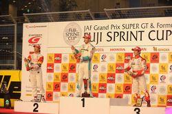 Podium: 1er Andre Lotterer, 2e Yuji Ide, 3e Naoki Yamamoto