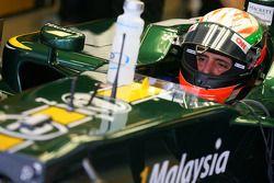 Vladimir Arabadzhiev, Lotus Racing