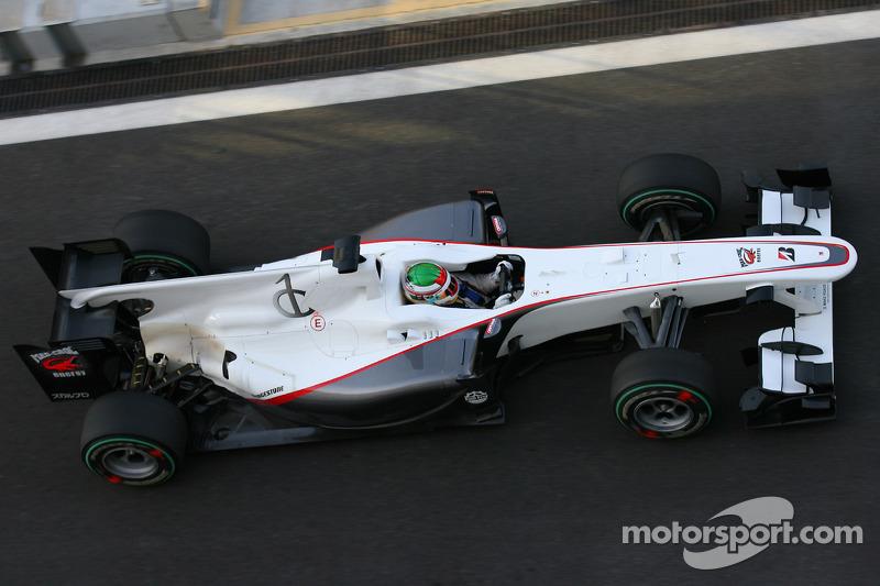 Серхио Перес, BMW Sauber