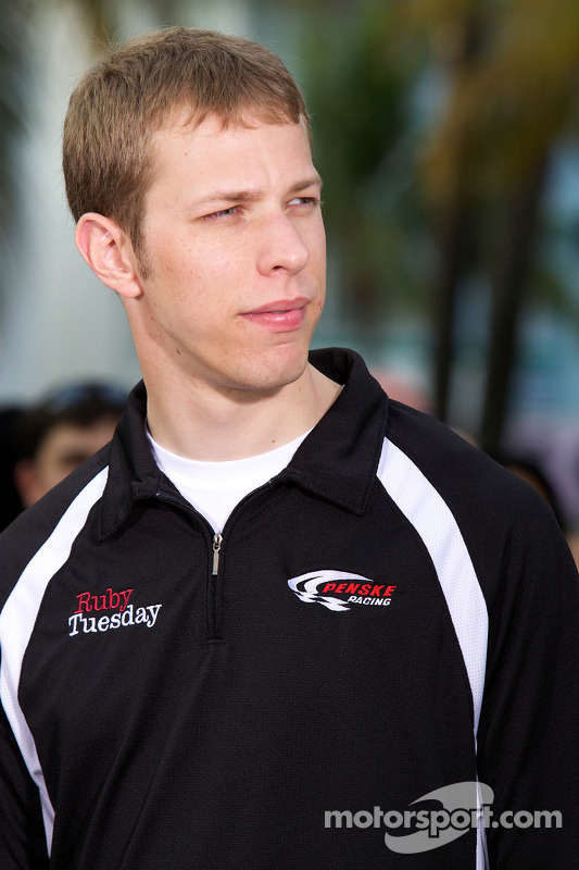 NASCAR Championship evenement in South Beach: Brad Keselowski, Penske Racing Dodge