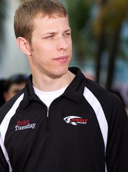 NASCAR Championship drive event in South Beach: Brad Keselowski, Penske Racing Dodge