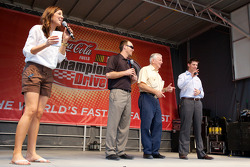 NASCAR Championship evenement in South Beach: Monica Palumbo, Kevin Harvick, Richard Childress Racin