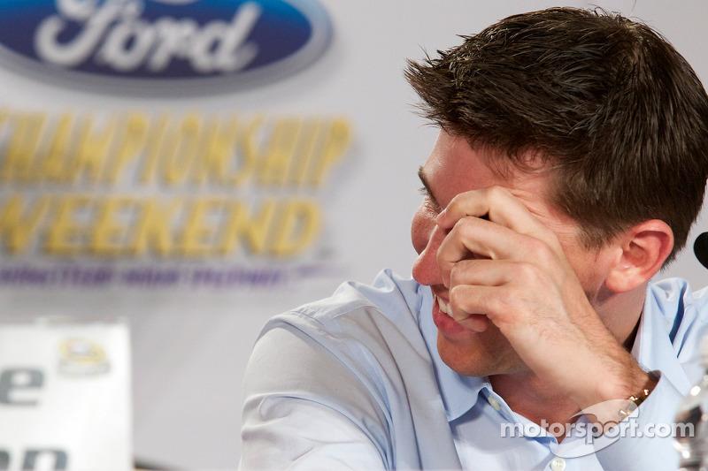Championship contenders pre-race press conference: Denny Hamlin, Joe Gibbs Racing Toyota