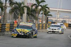 Tom Coronel, SR-Sport SEAT Leon 2.0 TDI crash
