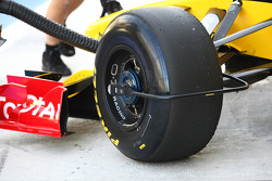 Tire device, Renault