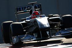 Michael Schumacher, Mercedes GP Petronas cuts the chichane