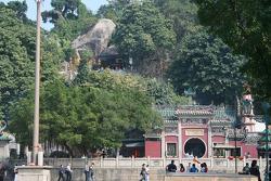 Le temple d'A-Ma