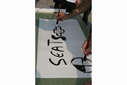 WTCC kalligrafie