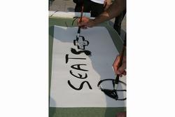 WTCC calligraphy