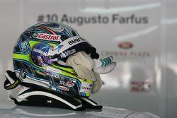 Helm van Augusto Farfus, BMW Team RBM BMW 320si