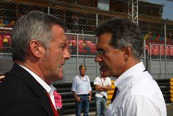 Marcello Lotti, algemeen manager KSO, en Dr. Mario Theissen,