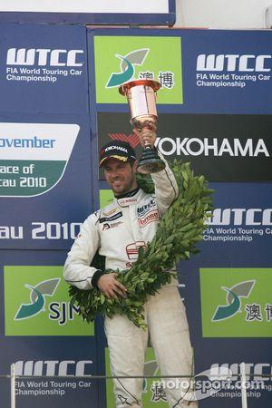 Podium Race 1, 3de Tiago Monteiro, SR-Sport SEAT Leon 2.0 TDI