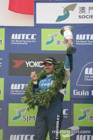 Podium Race 1, 2de Yvan Muller, Chevrolet, Chevrolet Cruze LT
