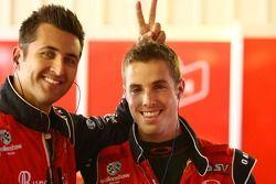 #24 Bundaberg Red Racing Team: Fabian Coulthard, #10 Bundaberg Red Racing Team: Andrew Thompson