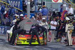 Jeff Gordon, Hendrick Motorsports Chevrolet, in der Boxengasse