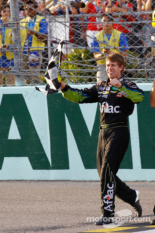 Race winnaar Carl Edwards, Roush Fenway Racing Ford